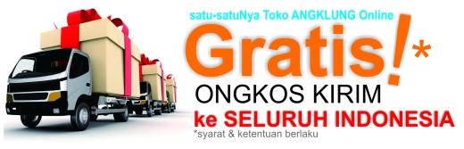Beli angklung disini Gratis Ongkir ke Seluruh Nusantara Indonesia